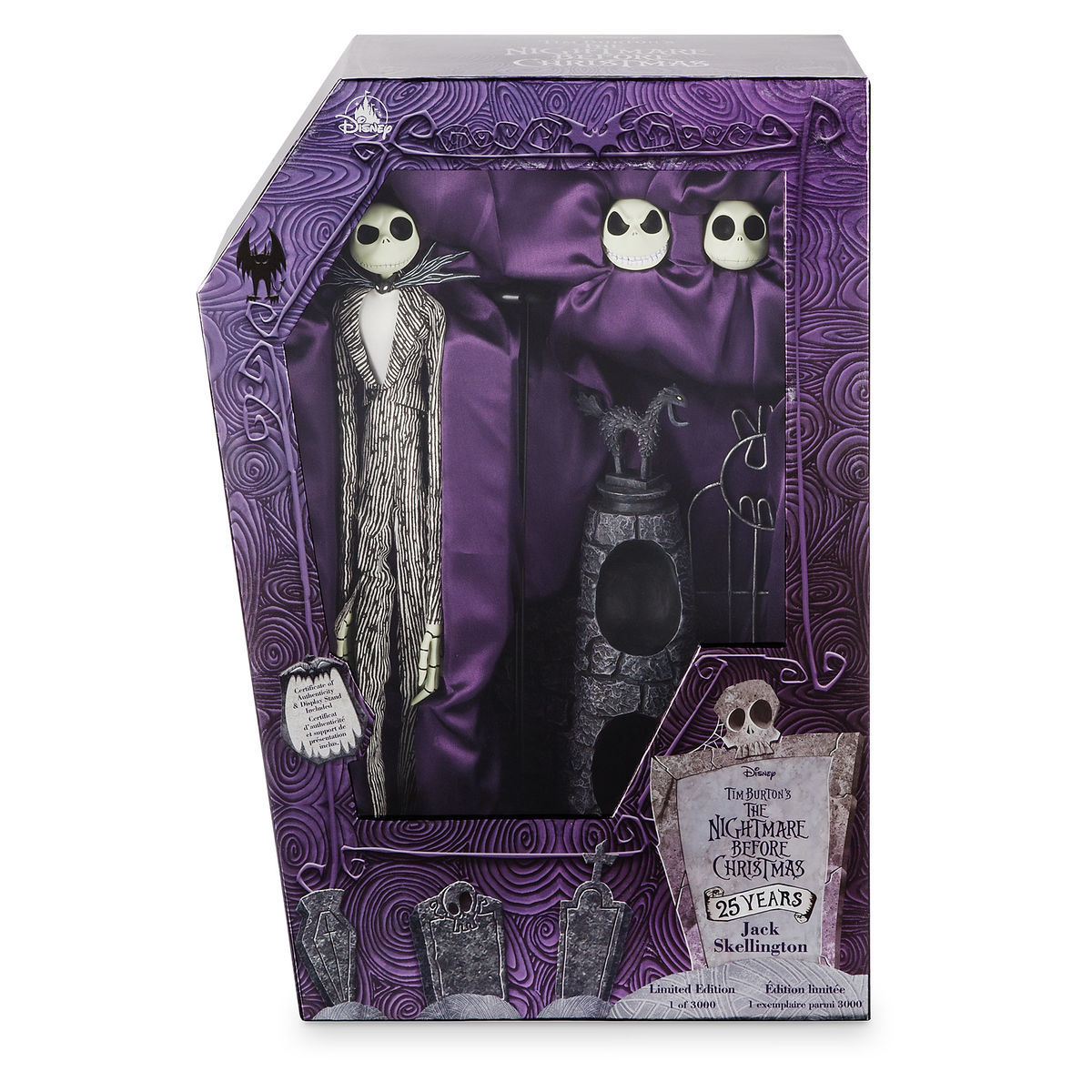 Jack Skellington 25th Anniversary Limited Edition Doll - The ...