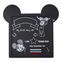 Image of Mickey Mouse Chalkboard Sign # 1