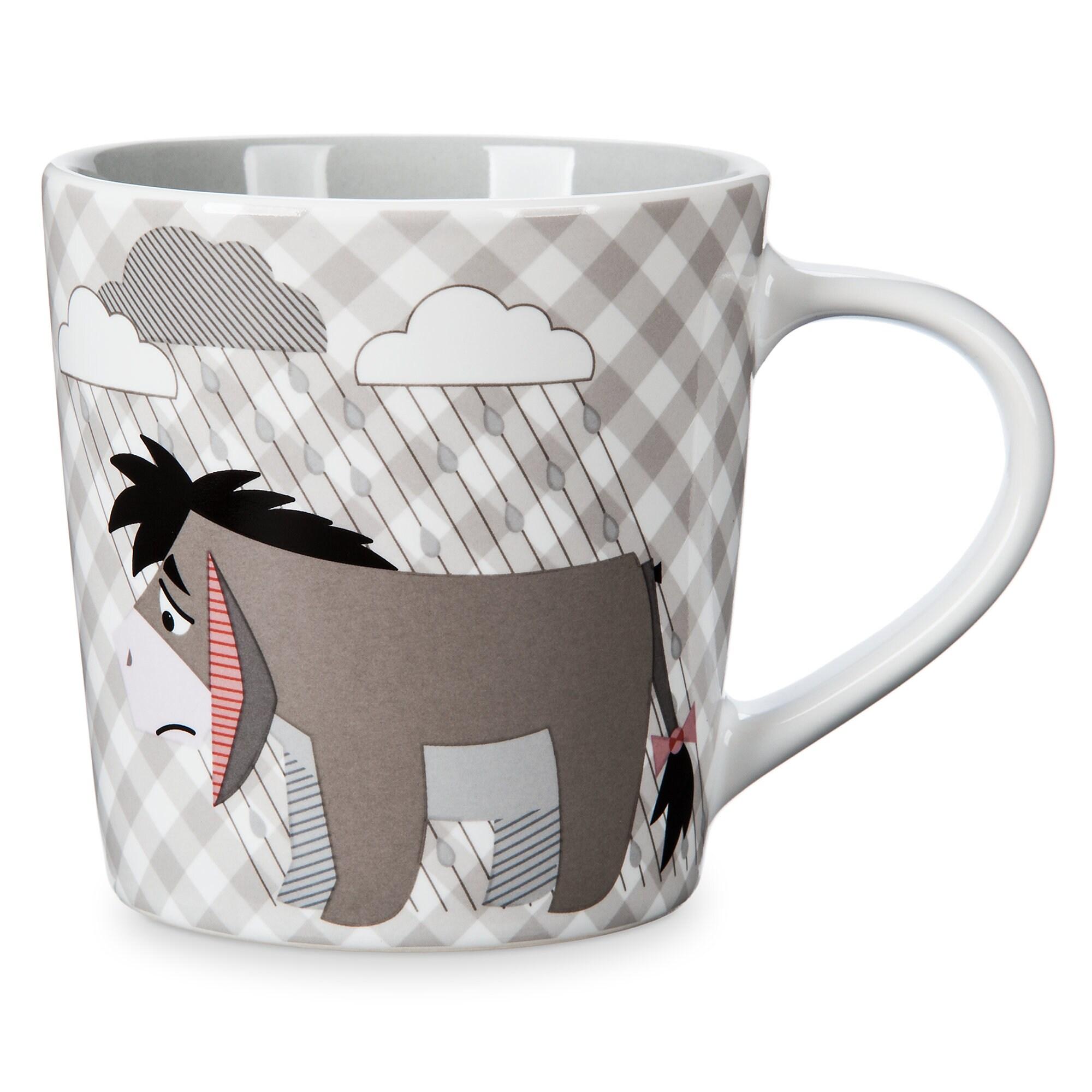 Eeyore Checkered Mug