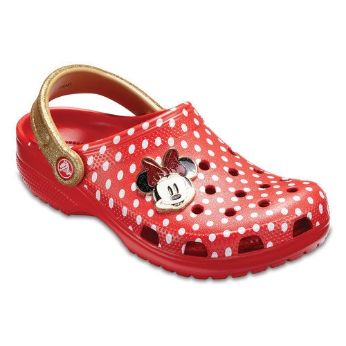 Minnie Mouse Classic Clogs For Women By Crocs Shopdisney