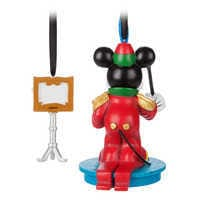 Image of Mickey Mouse Through the Years Sketchbook Ornament Set - The Band Concert - March - Limited Release # 2