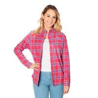 Image of Sebastian Flannel Shirt for Adults by Cakeworthy - The Little Mermaid # 2