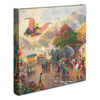Image of ''Dumbo'' Gallery Wrapped Canvas by Thomas Kinkade Studios # 2