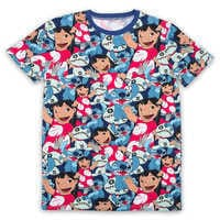 Image of Lilo & Stitch T-Shirt for Adults by Cakeworthy # 1