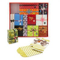 Image of Disney Socks Advent Calendar Gift Set for Men # 1