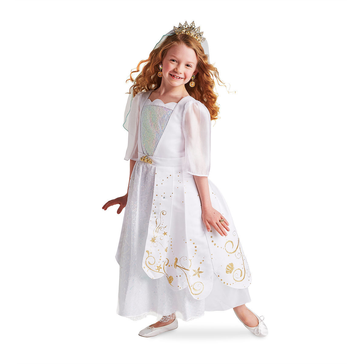Ariel Deluxe Wedding Costume Collection For Kids Shopdisney