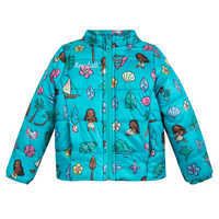 Image of Moana Lightweight Puffy Jacket for Kids - Personalizable # 1