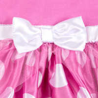 Image of Minnie Mouse Costume Bodysuit for Baby - Pink - Personalized # 5
