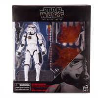 Image of Stormtrooper Action Figure - Star Wars - Black Series by Hasbro # 3