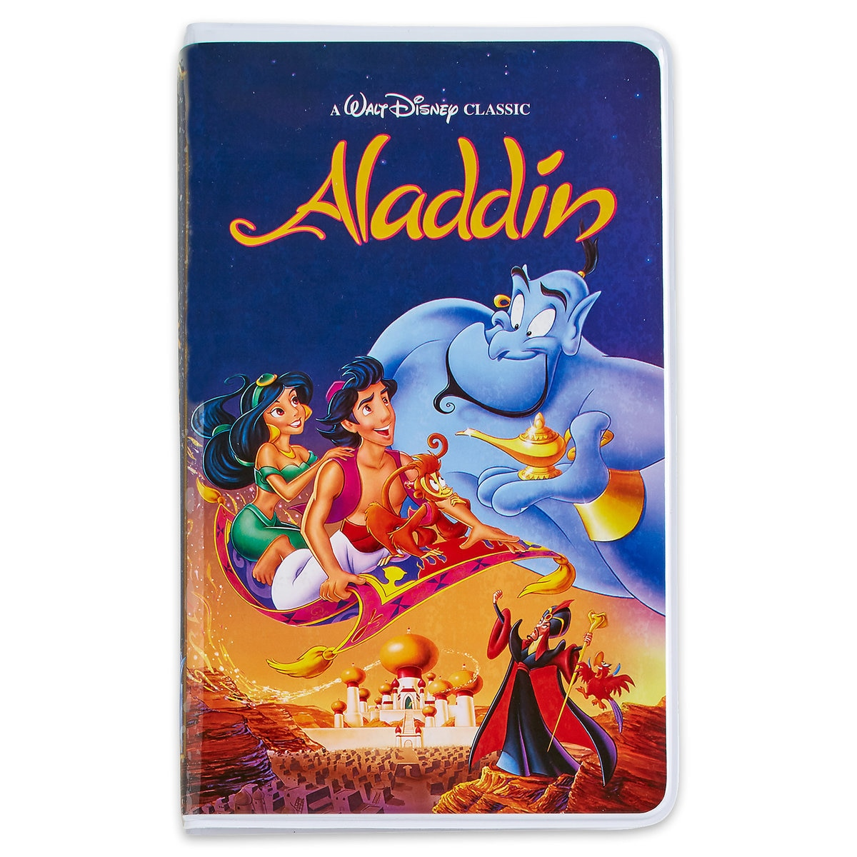 Product Image of Aladdin ''VHS Case'' Journal - Oh My Disney # 1
