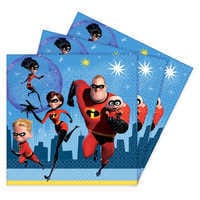 Image of Incredibles 2 Lunch Napkins # 1