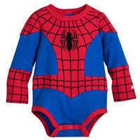 Image of Spider-Man Costume Bodysuit Set for Baby # 2