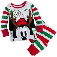 Minnie Mouse Holiday PJ Set for Baby