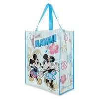 Image of Mickey and Minnie Mouse Reusable Tote - Hawaii # 2