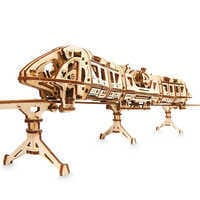 Image of Disney Parks Monorail Wooden Puzzle by UGears # 1