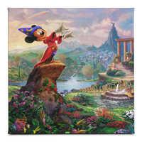 Image of ''Fantasia'' Gallery Wrapped Canvas by Thomas Kinkade Studios # 1
