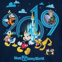 Image of Mickey Mouse and Friends Hoodie for Adults - Walt Disney World 2019 # 3