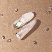 Image of Gus and Jaq Glitter Mesh Shoes for Women by TOMS - Cinderella # 4