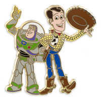 Image of Woody and Buzz Lightyear Pin # 1