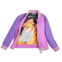 Image of Jasmine Quilted Varsity Jacket for Girls # 3