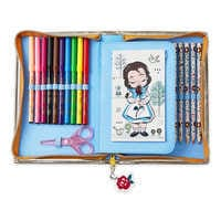 Image of Disney Animators' Collection Belle Zip-Up Stationery Kit # 3