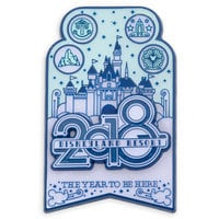 Image of Sleeping Beauty Castle Pin - Disneyland 2018 # 1