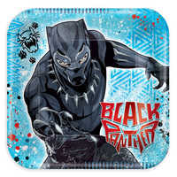 Image of Black Panther Dessert Plates # 1