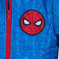 Image of Spider-Man Lightweight Quilted Jacket for Kids - Personalizable # 6
