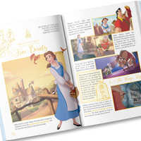Image of Your Day With Belle Book - Personalizable # 3
