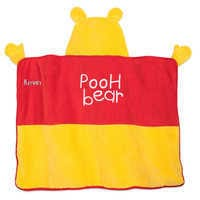 Image of Winnie the Pooh Hooded Towel for Baby - Personalized # 3