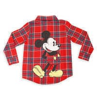 Image of Mickey Mouse Flannel Shirt for Kids by Cakeworthy # 1