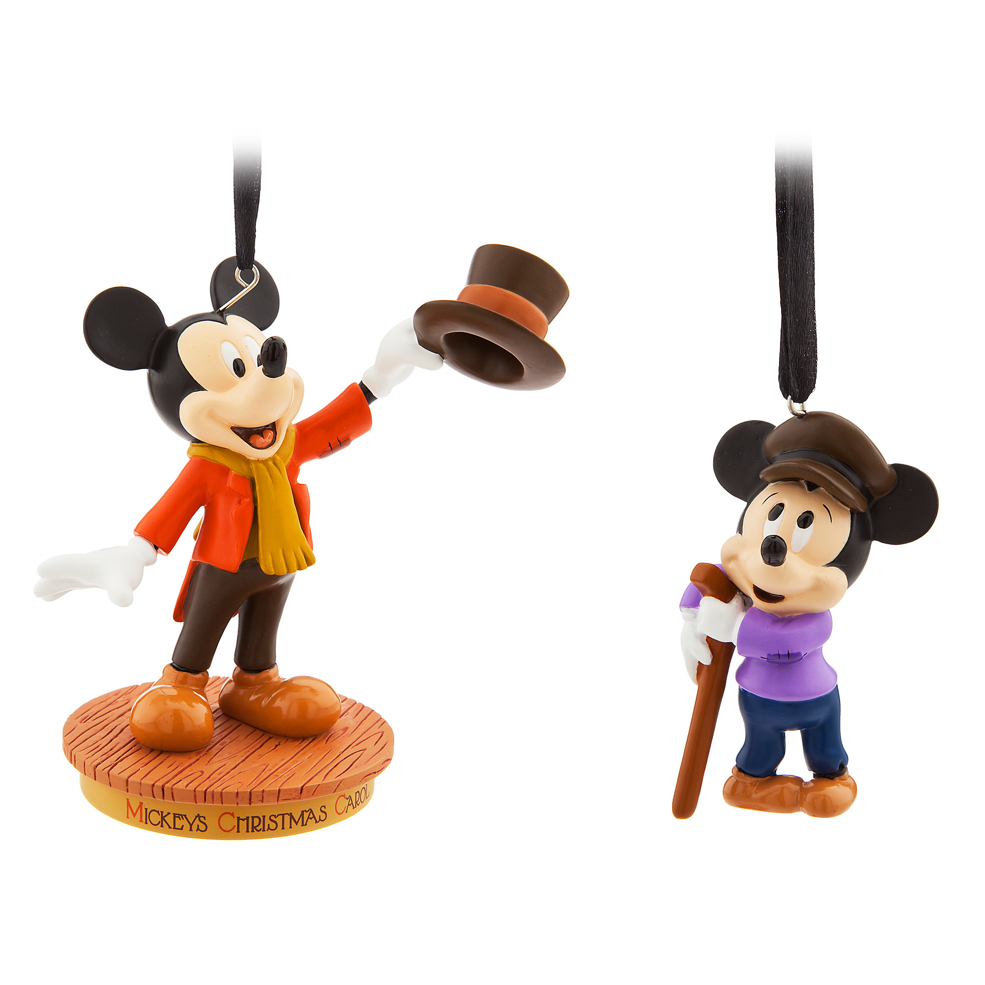 Mickey Mouse Through the Years Sketchbook Ornament Set - Mickey's Christmas Carol - September - Limited Release