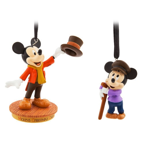 Mickey Mouse Through the Years Sketchbook Ornament Set - Mickey's Christmas Carol - September ...