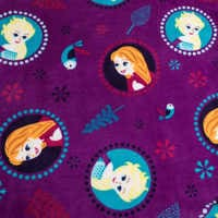 Image of Frozen Fleece Throw - Personalizable # 3