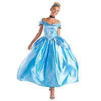 Image of Cinderella Prestige Costume for Adults by Disguise # 1