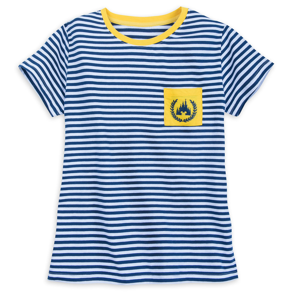64dac5c8 Product Image of Fantasyland Castle Striped T-Shirt for Women # 1