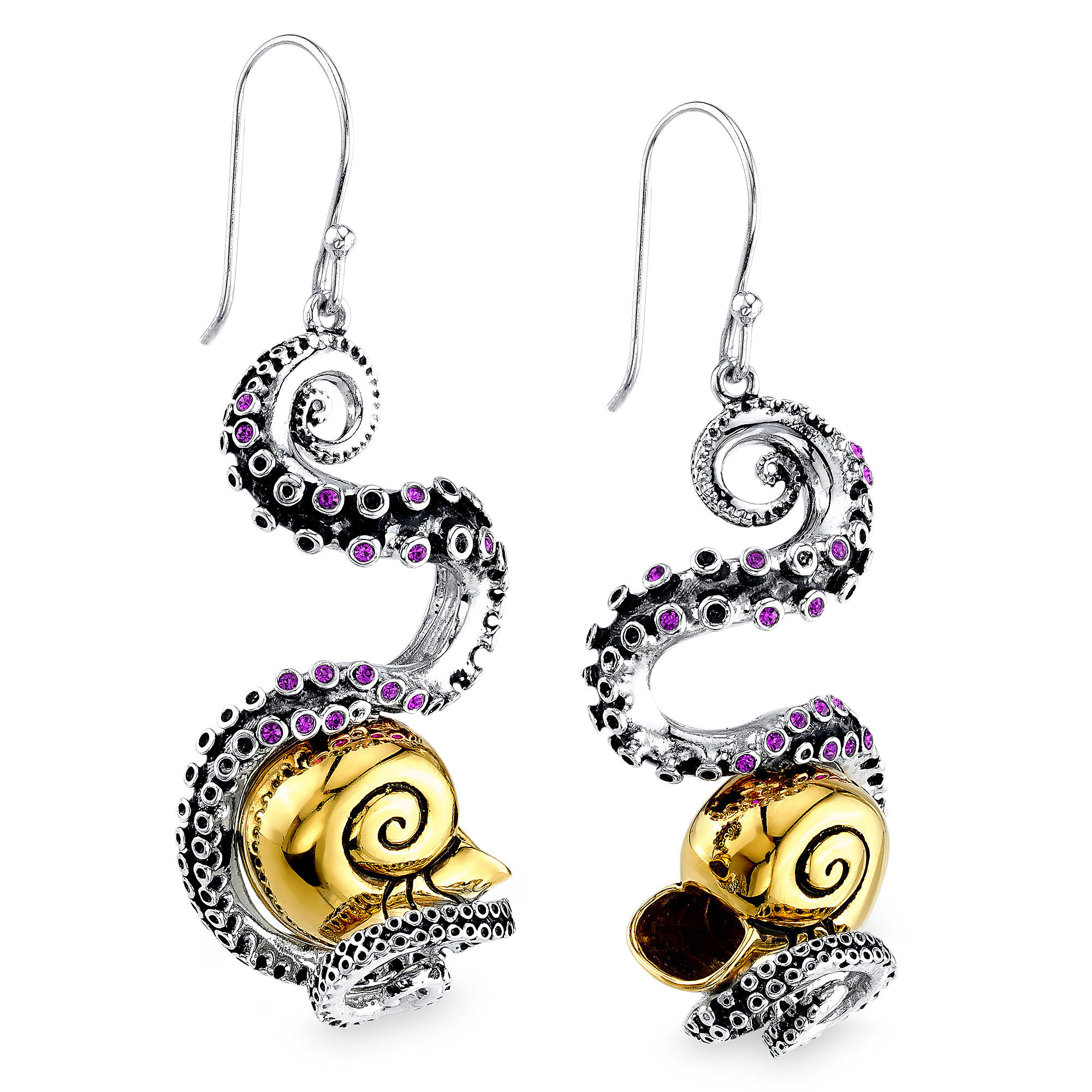 Ursula Tentacle Earrings by RockLove - The Little Mermaid