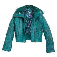 Image of Uma Faux Leather Moto Jacket for Girls - Descendants 3 # 3