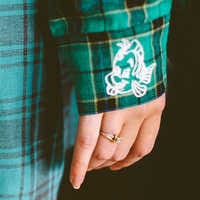 Image of Ariel Flannel Shirt for Adults by Cakeworthy # 6