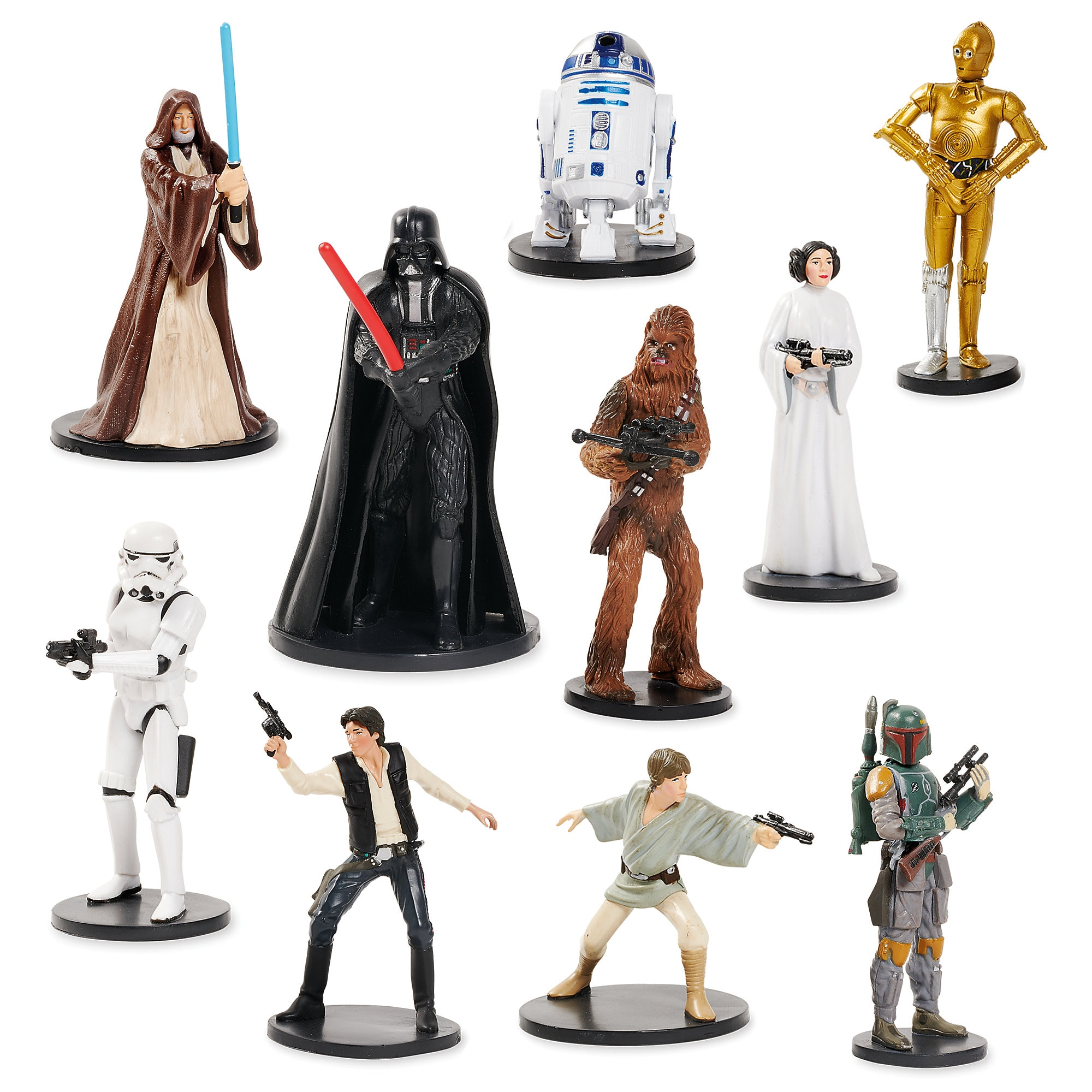 Star Wars: A New Hope Deluxe Figurine Set