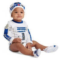 Image of R2-D2 Costume Bodysuit for Baby - Star Wars # 2
