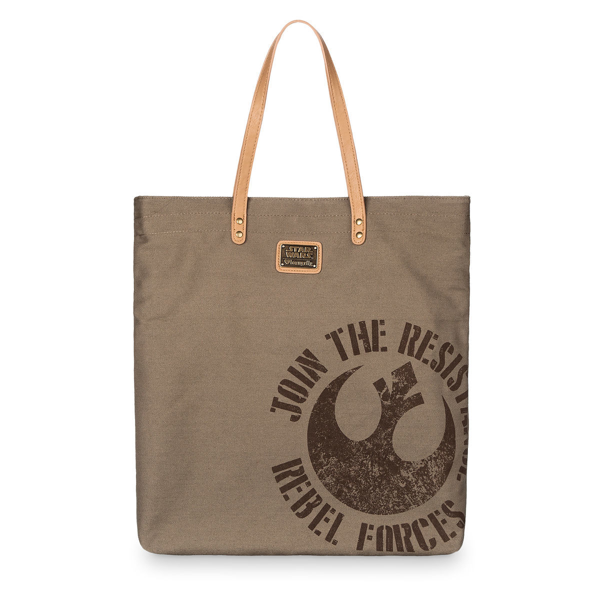 Product Image of Star Wars  Rebel Resistance Tote Bag by Loungefly   2 f2636339b5192