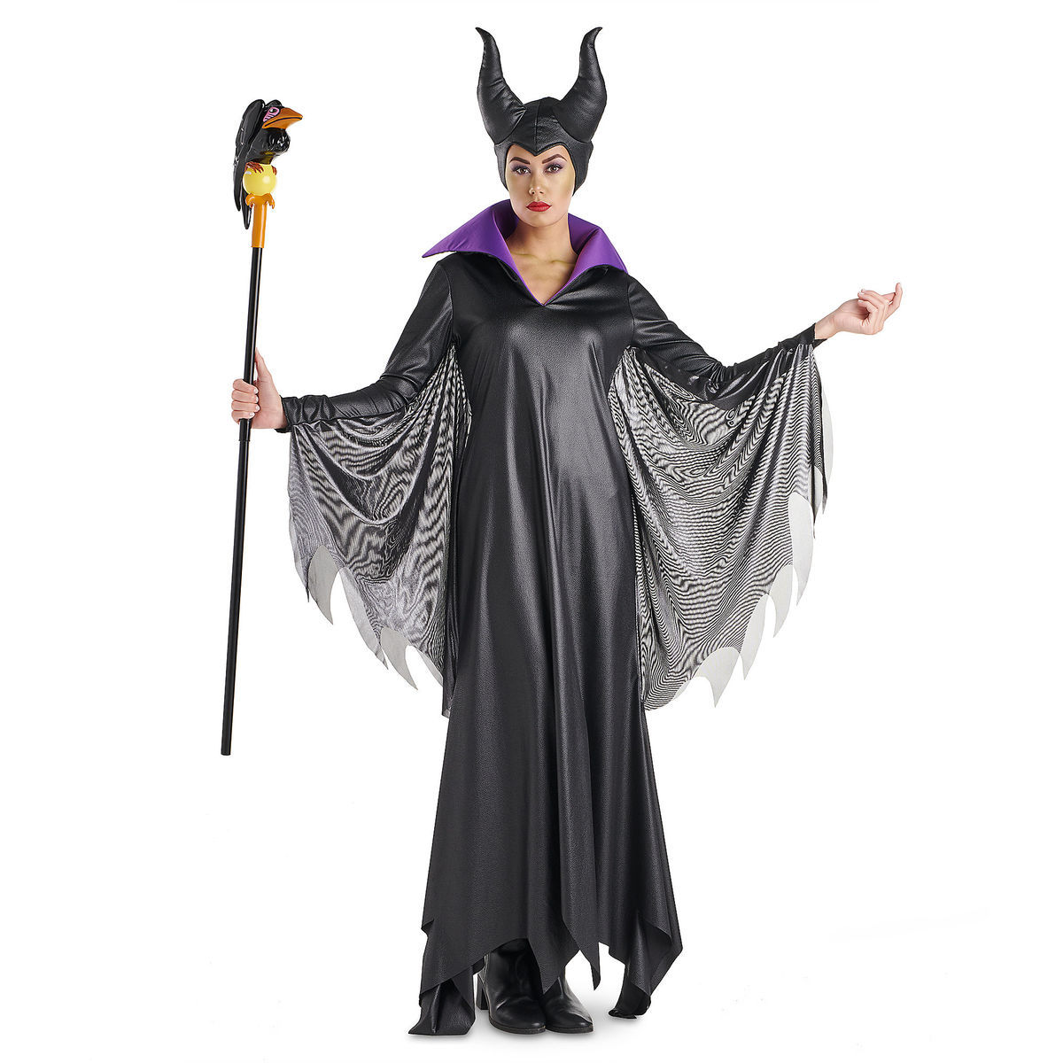 product image of maleficent deluxe costume for adults by disguise 1
