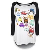 Image of Cars Land Raglan T-Shirt - Jerrod Maruyama - Women # 1