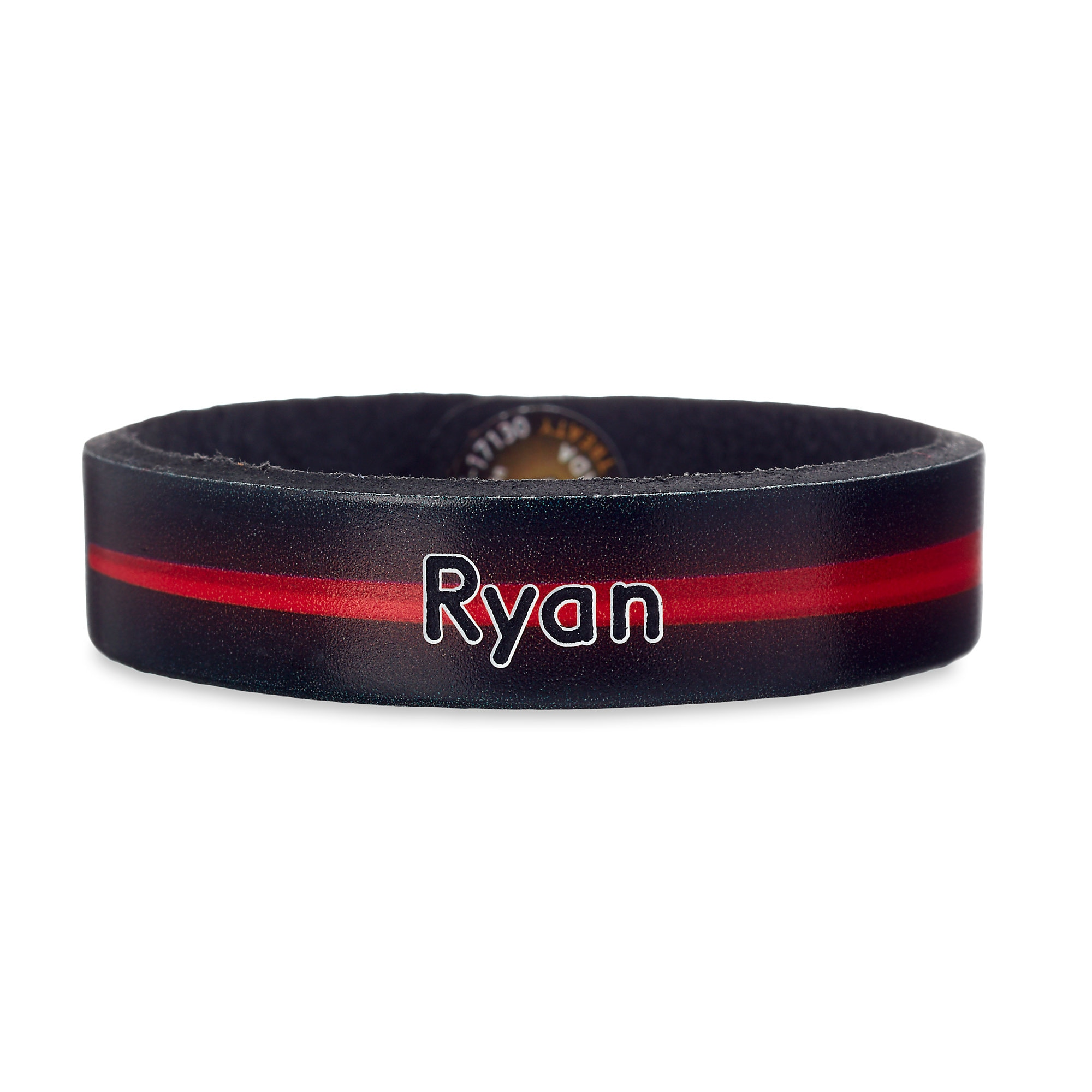 Darth Vader Leather Bracelet - Star Wars - Personalizable