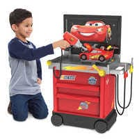 Image of Lightning McQueen Service Station - Cars 3 # 2