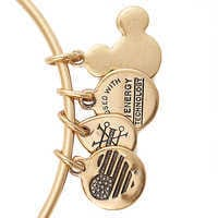 Image of Sleeping Beauty Castle Figural Bangle by Alex and Ani # 6