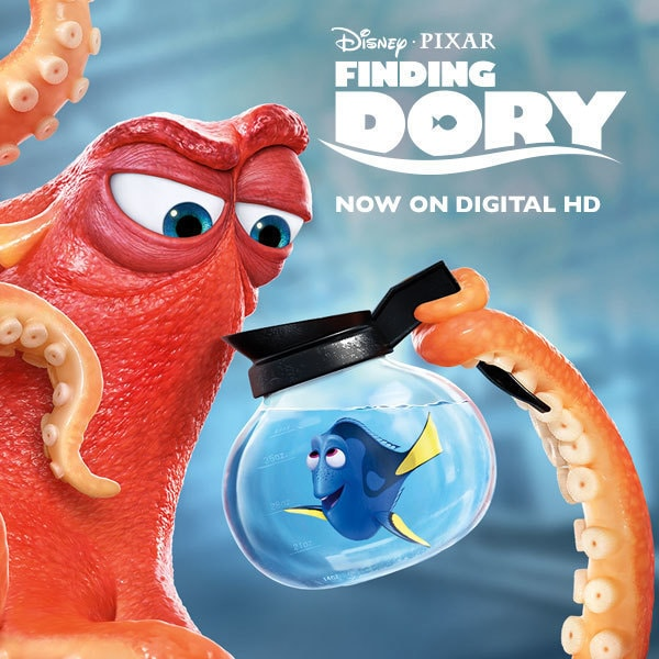 Finding Dory on Digital HD