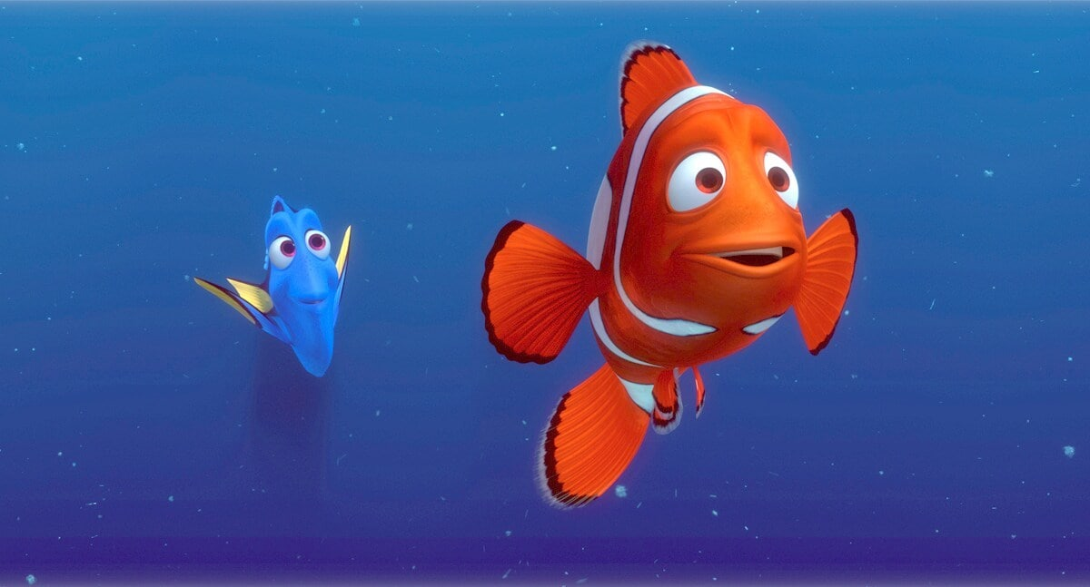"Dory and Marlin in ""Finding Nemo"""
