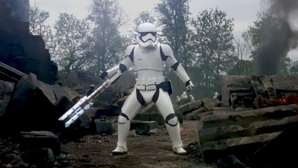 Image result for riot control trooper first order